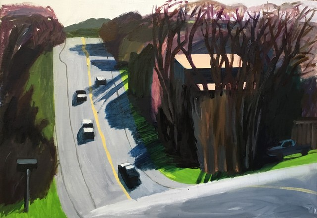 Anna Lukashevsky, 'A Road in Texas', 2018, Rosenfeld Gallery