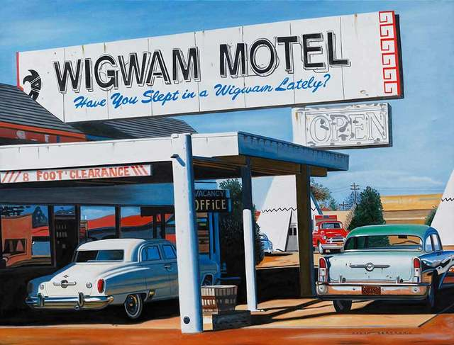 , 'Wigwam Motel,' , Catto Gallery