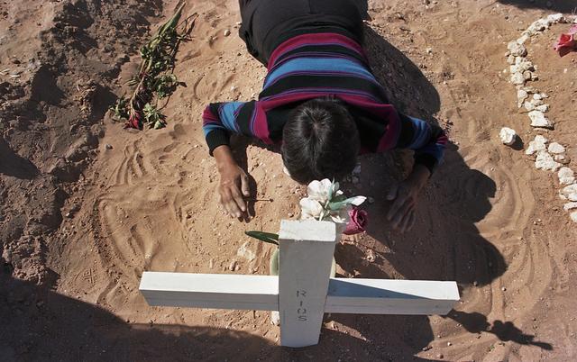 , 'Esther on the Grave of Her Daughter,' 2003, Denise Bibro Fine Art