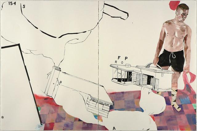 Jack Balas, 'POET'S HOLIDAY', 2018, William Havu Gallery
