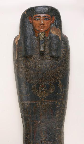, 'Coffin of Irethorrou (detail) Egyptian, Akhmim,' ca. 500, Legion of Honor