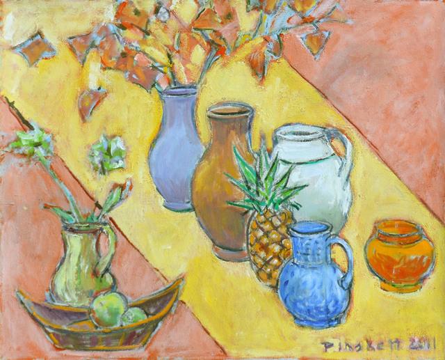 Joseph Plaskett, 'Pineapple with Vases', 2011, Bau-Xi Gallery