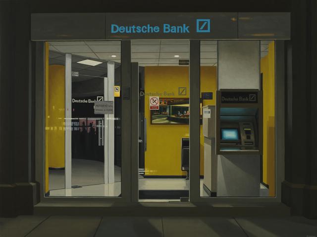 , 'Deutsche Bank (Nighthawks),' 2016, Galerie D'Este
