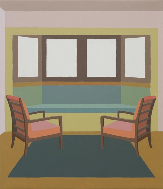 Zsofia Schweger, 'Living Room at the Frank Lloyd Wright Home and Studio in Oak Park, Illinois', 2019, Sapar Contemporary