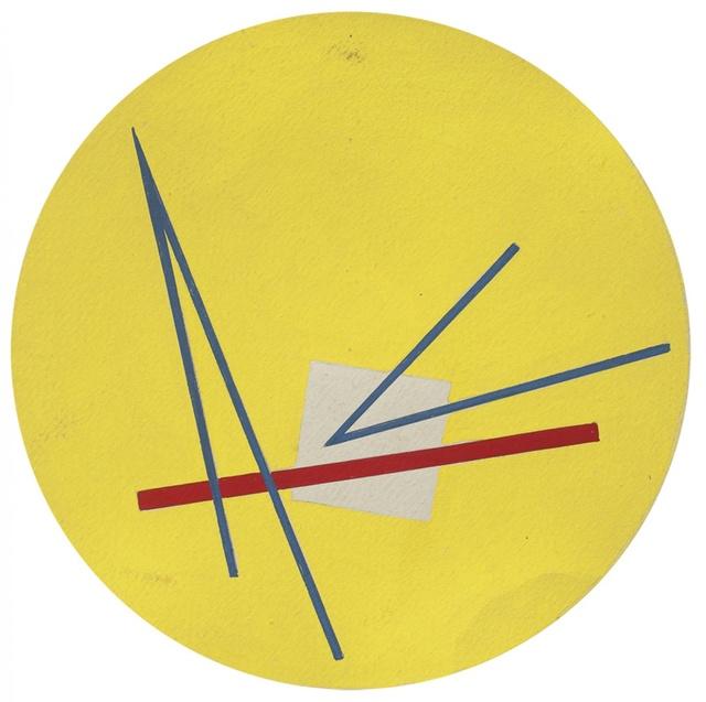 , 'Línea roja,' ca. 1955, Galería de las Misiones