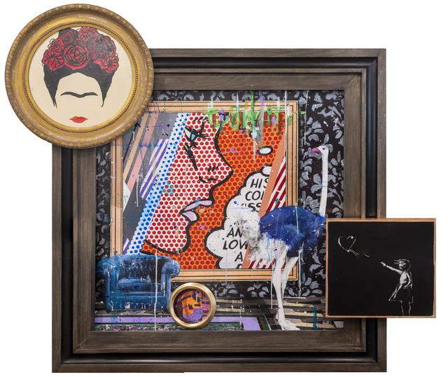 Angelo Accardi, 'Ostrich in the frame ', 2019, Eden Fine Art
