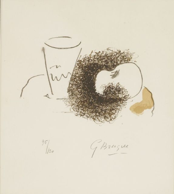 Georges Braque, 'The Glass and The Apple From Ten Works (Vallier 189)', 1963, Sworders