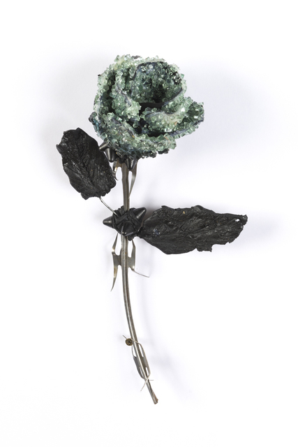 , 'Rose with Leaves,' , Hashimoto Contemporary