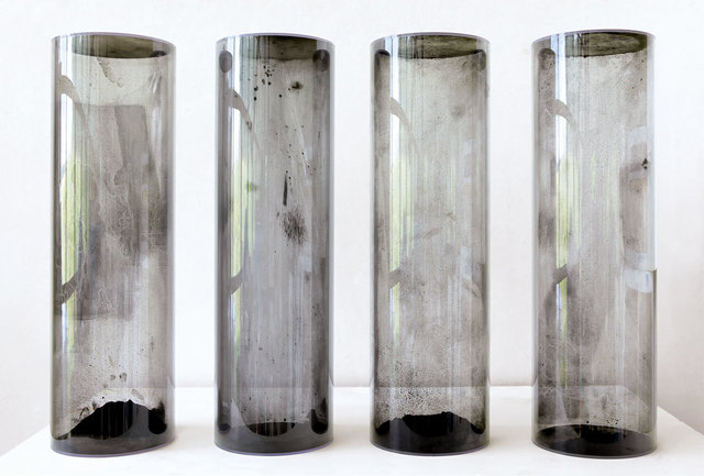 , 'Elektrostatische Objekte,' 2014, Galerie Kellermann