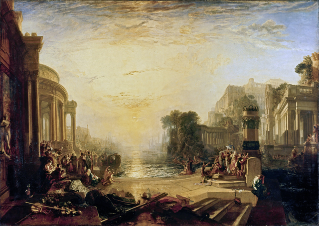 J. M. W. Turner, 'The Decline of the Carthaginian Empire', exhibited 1817, Erich Lessing Culture and Fine Arts Archive