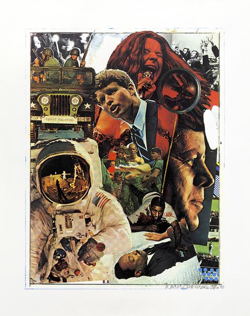 Robert Rauschenberg, 'Signs', 1970, Print, Screenprint, Mary Ryan Gallery, Inc