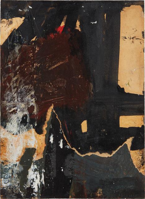 Franz Kline, 'Black, White, Brown', 1959-1960, Phillips