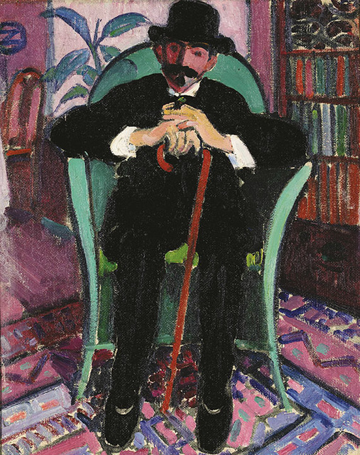 , 'The Connoisseur,' 1910, Montclair Art Museum