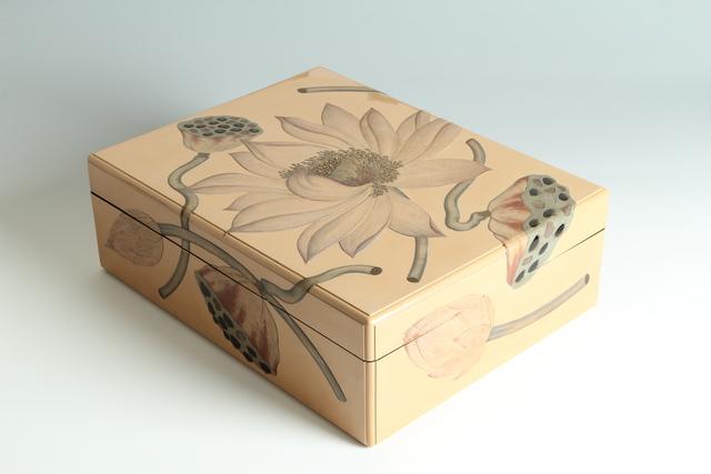 , 'Lotus Paper Box (T-3923),' Showa era (1926-1989) 1930s, Erik Thomsen