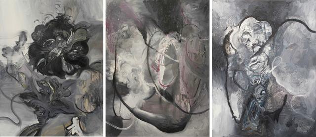 Juan Becú, 'Unione y Benevolanza (triptych)', 2011, Nora Fisch