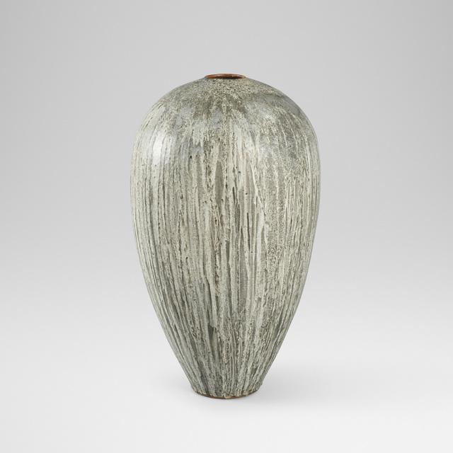 Aage and Kasper Wurtz, 'monumental floor vase', Design/Decorative Art, Glazed ceramic, Rago/Wright