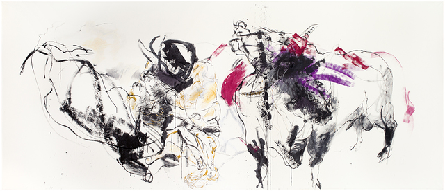 , 'Minotauros ja kaksipäinen härkä,' 2017, Galerie Forsblom