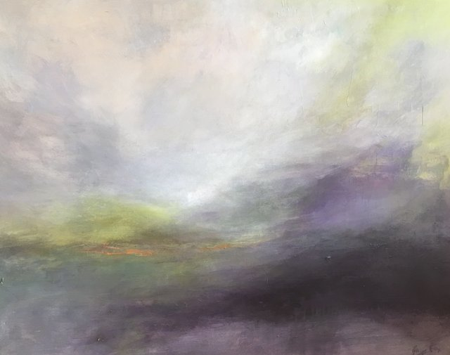 , 'Foggy Recollections,' 2018, Ginger Fox Gallery