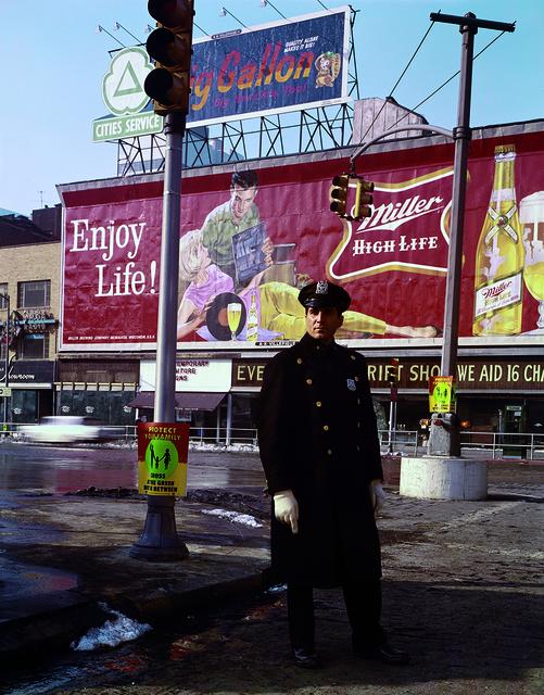 Evelyn Hofer, 'Policeman 59th St., New York', 1964, ROSEGALLERY