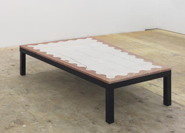 , 'Undulation Coffee Table,' 2016, Johannes Vogt Gallery