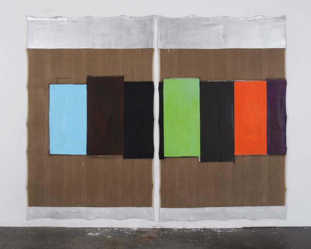 , 'Über Malerei 581,' 2015, PRISKA PASQUER
