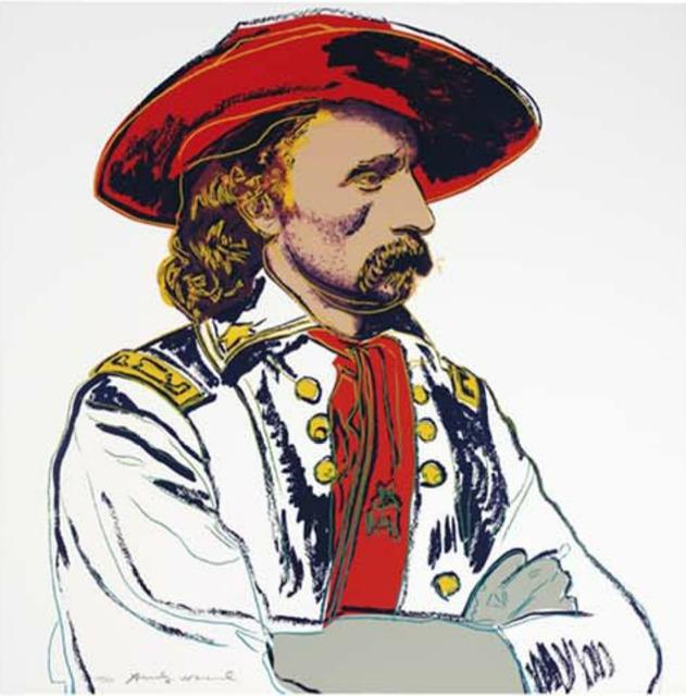 Andy Warhol, ' General Custer (FS II.379)', 1986, Revolver Gallery