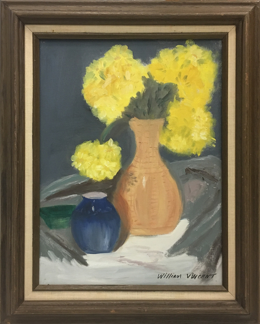 , 'Still Life with Vases and Flowers,' , Baterbys Art Gallery