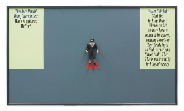 Mark Kelner, 'Dedicated to Ilya Kabakov and the Coen Brothers (The Big Lubowski)', 2014, Galerıe Blue Square