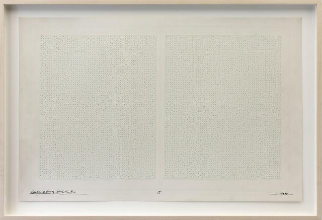 , 'Exercise of an Artist,' 1987, Galerija Gregor Podnar