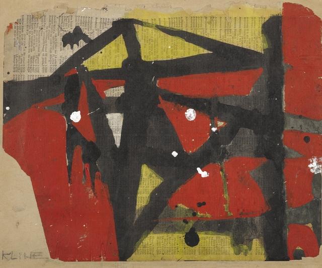 Franz Kline, 'Untitled III', 1952, Sotheby's