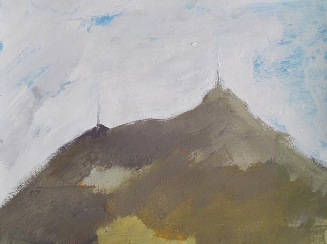 , 'da série Pico do Jaraguá,' 2012, Galeria Mezanino