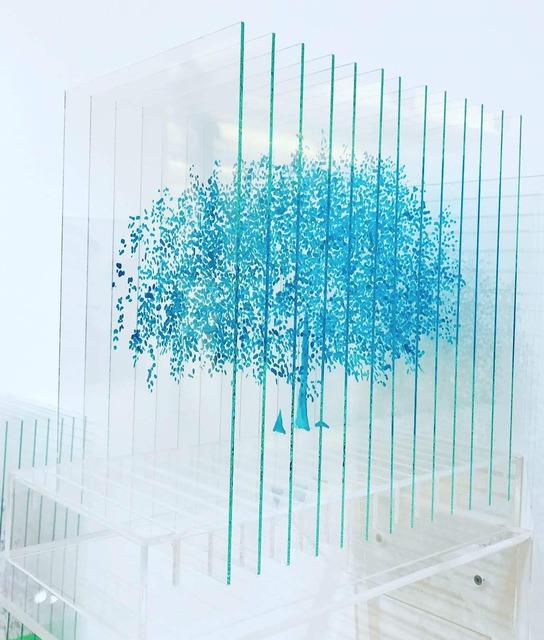 , 'Turquoise Tree,' 2019, FREMIN GALLERY