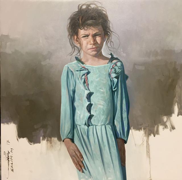 Salem Mathkour, 2017, al markhiya gallery