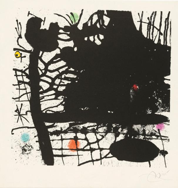 Joan Miró, 'Nuit Tentaculaire', 1969, Hidden