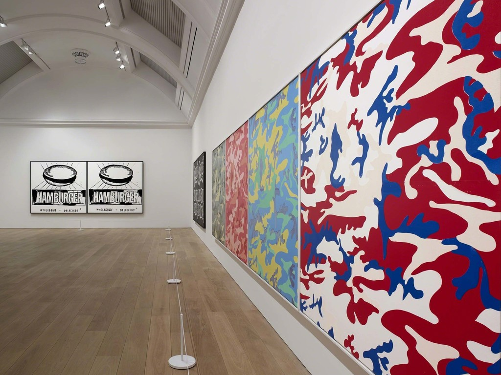 """ARTIST ROOMS Andy Warhol,"" Whitworth. Photo: Michael Pollard"