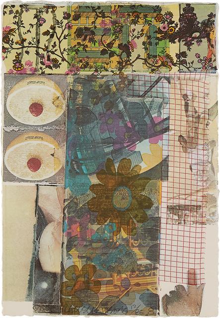 Robert Rauschenberg, 'Arcanum V ', 1981, Zane Bennett Contemporary Art