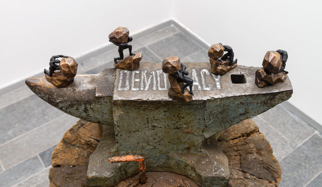 Pascale Marthine Tayou, 'Anvil of Democracy', 2018, PinchukArtCentre