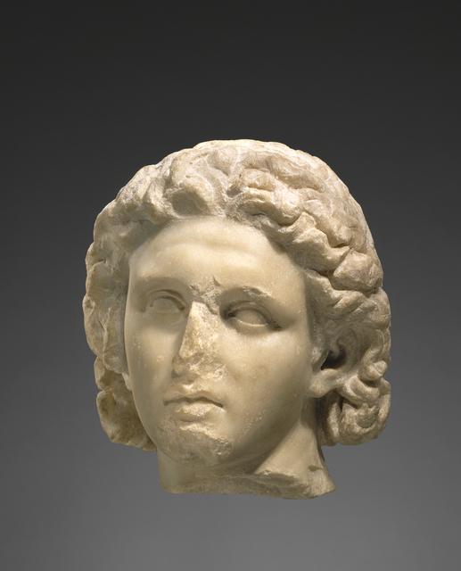 'Portrait of Alexander the Great', ca. 320 BCE, J. Paul Getty Museum