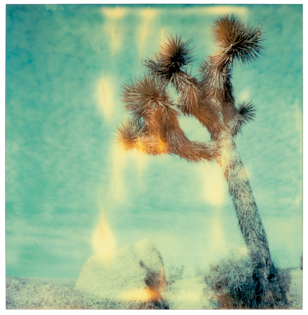Stefanie Schneider, 'Mind Screen - Contemporary, Abstract, Landscape, USA, Polaroid, Desert', 1999, Photography, Digital C-Print, based on a Stefanie Schneider expired Polaroid photograph, Instantdreams