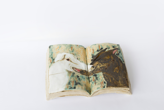 , 'The Book You Can't Put Down–Beast,' 2019, Yiri Arts