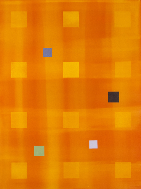 , 'Yellow Orange Grid,' 2005, Oeno Gallery