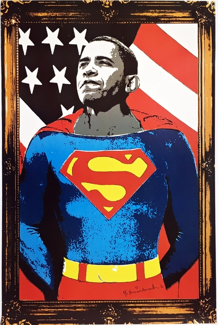 Mr. Brainwash, 'Obama Superman', 2009, Alpha 137 Gallery