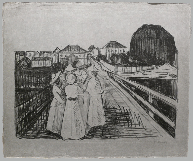 , 'On the Bridge,' 1912-1913, David Tunick, Inc.
