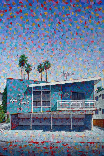 Raymond Logan, 'Kokomo House', 2020, Painting, Oil on canvas, George Billis Gallery