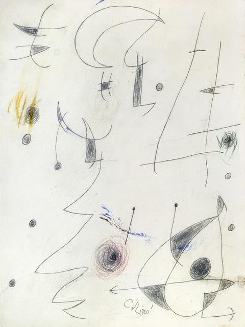 , 'Paysage nocturne (W7798),' 1976, Galerie Ernst Hilger