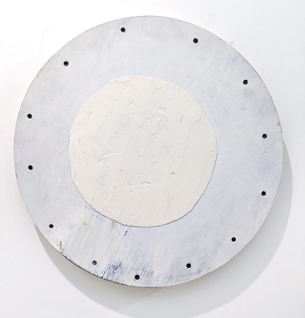 , 'Two White circles,' 1990, Marc Straus