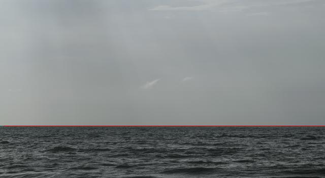 , 'La Linea Roja/The Red Line,' 2018, PontArte
