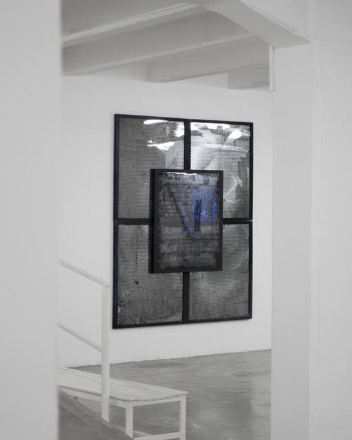 , 'Steel/Mesh 1 ,' 2016, The Flat - Massimo Carasi