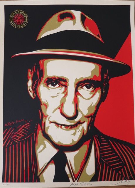 Shepard Fairey (OBEY), 'William S. Burroughs', 2014, AYNAC Gallery