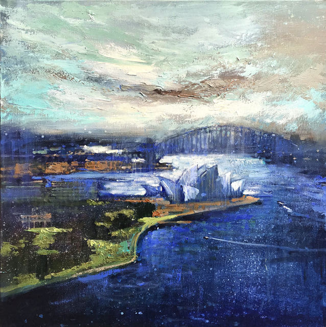 , 'Opera House and The Bridge,' 2019, Wentworth Galleries